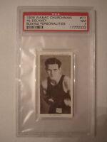 1938 AL DELANEY BOXING CHURCHMAN PSA GRADED 7 NEAR - MINT CARD