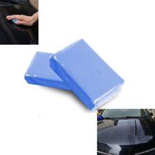 1 x Clean Car Safe Wash Magic Bar Vehicle Detailing Washing Cleaner Blue Clay