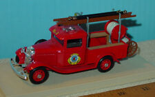 ELIGORE 1934 FORD - WASHINGTON FIRE DEPT. IN PLASTIC CASE 1/43 Scale