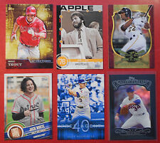 2015 Topps Series 1, 2 & UPDATE Lot You Pick 30 - Including Inserts