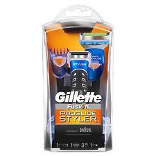 Gillette Fusion ProGlide Power Styler 3-in-1 Rasierer mit Gratis Beautymaske