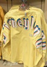 Disney Disneyland Resort Retro Pastel Yellow Spirit Jersey Adult XS S M L XL 2XL