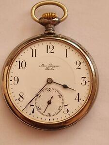 ZENITH aus BERLIN Herren Lepine Taschenuhr mit Top Qualität Zenith Werk  um 1900
