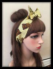 Owl Headband Bandana Scarf Headscarf Boho Hippy Hairband Hair Tie Band Hipster