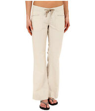 The NORTH FACE $65 NWT Wander Free Pants Womens 4 Regular Tan Beige Striped NEW