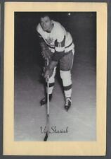 1944-63 Beehive Group II Detroit Red Wings Hockey Photos #212C Vic Stasiuk