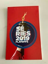 unused season hockey  tickets Montreal Canadiens complete booklet Playoffs 2019