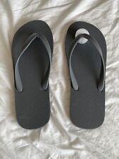 Flip Flops - Size: L 11-12 - Gray