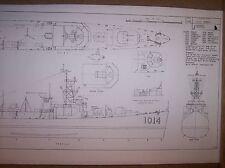 USS CROMWELL ship boat model boat plans
