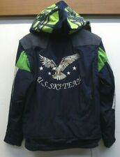 Vtg Boy's Spyder USA Ski Team Jacket Vest Embroidered Eagle Thinsulate Sz 18