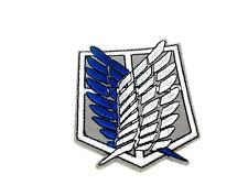 Shingeki No Kyojin Attack Titan Recon Corps Cosplay Embroired Iron On Patch