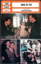 FICHE CINEMA : BRAS DE FER - Giraudeau,Malavoy,Molina,Vergez 1985