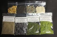 Model Basing Set - Warhammer - Slate Chippings Sand Static Grass - Set B