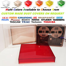 Dust Cover Reel to Reel Tape Recorder AKAI OTARI REVOX SONY TASCAM TEAC TECHNICS