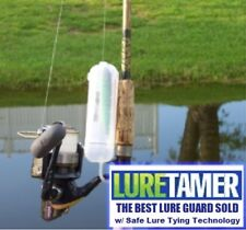 """6"""" LURE TAMER w/ Lure Tying Technology No exposed hooks while tying or carrying"""