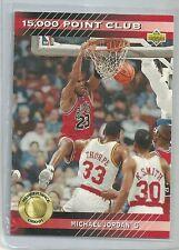 1993-94 Upper Deck Basketball Michael Jordan 15,000 Point Club Insert Card #PC4