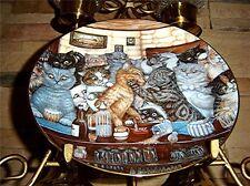 Last Orders Siamese ZOE'S CATS Zoe Stokes Persian Plate