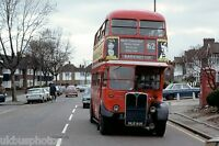 London Transport RT3016 Upney Lane Feb 1979 Bus Photo