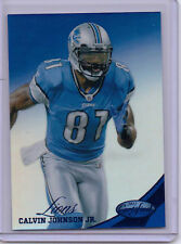 Calvin Johnson 2012 Certified MIRROR BLUE Ser#d 011/100  Lions