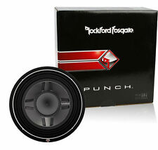 "ROCKFORD FOSGATE P3SD4-12 NEW 12"" 4 OHM DVC SHALLOW SUBWOOFER P3SD412"