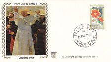 1979 POPE JOHN PAUL II VISIT to MEXICO POSTAL COVER