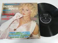 "FAUSTO PAPETTI SAX ALTO I REMEMBER N 7 - LP VINYL VINILO 12"" VG/VG 1978 DURIUM"