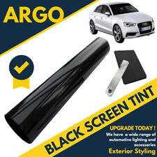 Black Sun Visor Window Screen Windshield Film Tint Strip Protect Shade No Glare