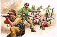 Italeri 1:72 - 6076 WW2 Deutsche Afrika Truppen, DAK, Modellbausatz unbemalt
