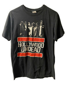Hollywood Undead Concert Graphic T Shirt Large