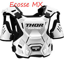 Thor Guardian S20 Motocross Off Road Chest Protector Body Armour White Youth