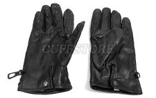 Bondage BDSM Soft Black Leather Vampire Gloves Metal Spike Sensation Claw Mitts