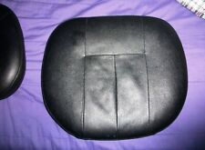 Black Vinyl Chiavari Hard Chair Cushion
