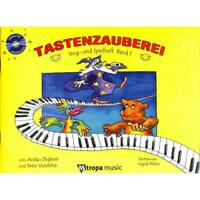 Tastenzauberei - Sing- und Spielheft Bd. 1 mit CD PORTOFREI VOM MUSIKFACHHÄNDLER