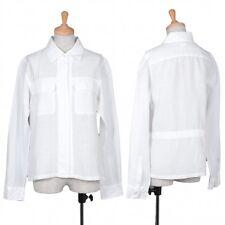 MARGARET HOWELL Linen Long Sleeves Shirt Size 2(K-38568)