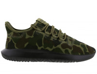 ADIDAS TUBULAR SHADOW TRAINERS * CAMO KHAKI GREEN/BLACK CP8682 * UK 7, 8, 9, 10