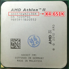 AMD Athlon II X4 651K 3 GHz Quad-Core CPU Processor AD651KWNZ43GX