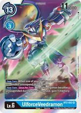SUPER RARE UlforceVeedramon BT2-032 - Digimon Release Special Booster VER 1.5