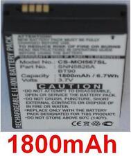 Batterie 1800mAh type BT90 SNN5759 SNN5765 SNN5826A Pour MOTOROLA Q9e