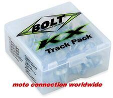 Kawasaki KX250F KX450F 04-16 KXF Bolt Track Pak special washers & fasteners kit