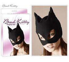 Masque de CatWoman noir opaque Bad Kitty