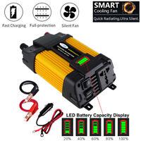 4000W Peak Power 12V DC TO 110V AC Car Power Inverter Solar Converter LED Screen
