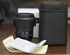 Sigma Art 50mm f/1,4 DG HSM Objectif pour Canon EF