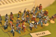 25mm ACW / confederate - militia 26 figures - inf (40188)