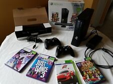 Microsoft Xbox 360 Kinect Holiday Bundle 250GB Glossy Black Console