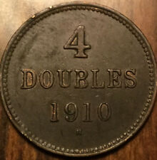 1910H GUERNESEY 4 DOUBLES