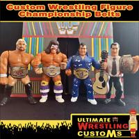 WWF WWE Retro Wrestling Belt Set for Hasbro / Mattel / Jakks Figures