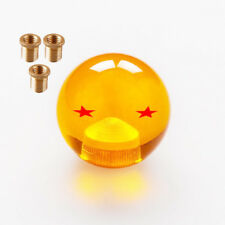 New Racing Dragon Ball Z gear DBZ shift knob 54mm Diameter 2 star+3 adapters