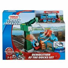 NEW OFFICIAL THOMAS & FRIENDS DEMOLITION AT THE DOCKS SET TOY TRAIN SET