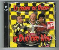 LA COMPIL DU RUGBY - LE DUO DES NON - 2 CD SET 12 TITRES - 2011 - NEUF NEW NEU