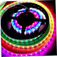 WS2811 RGB LED Strip Light Addressable Digital Tube DC 12V 30LED/M Black ePGV